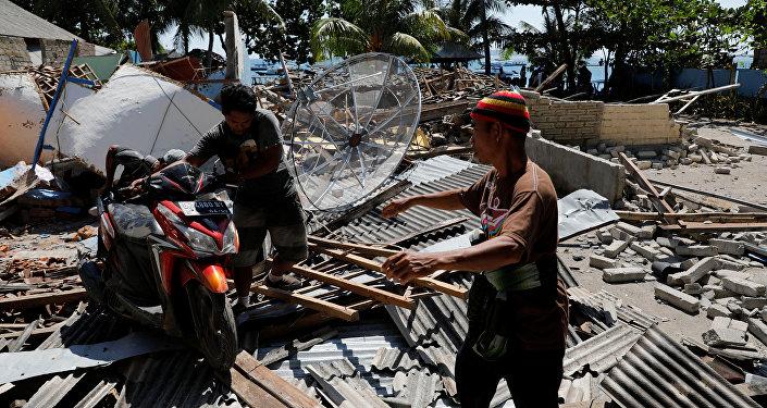 L'île de Lombok après le séisme du 5 août 2018