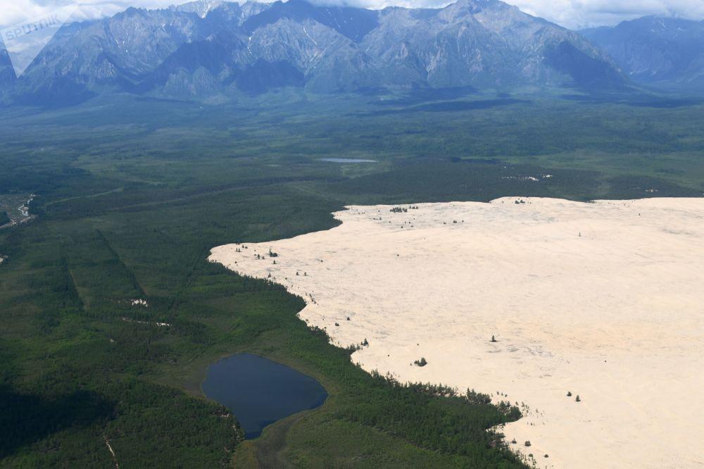 Les Chara Sands, le désert le plus original du monde