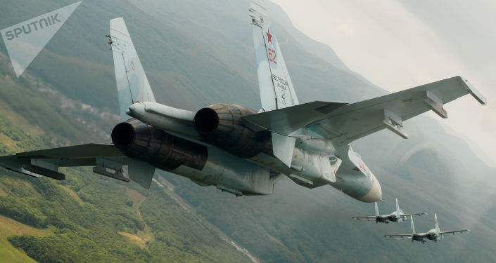 Chasseur russe Su-27