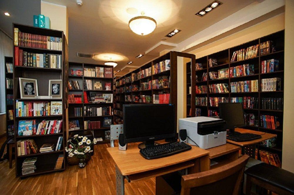 Bibliothèque de Zadornov à Riga