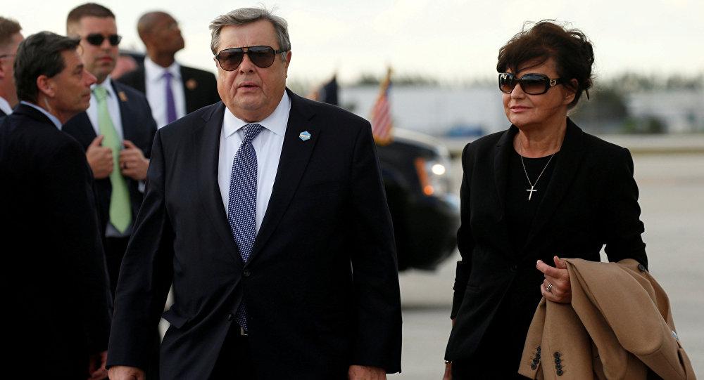 Viktor et Amalija Knavs, parents de Melania Trump