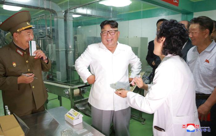Les visites d'inspection du dirigeant nord-coréen Kim Jong-un