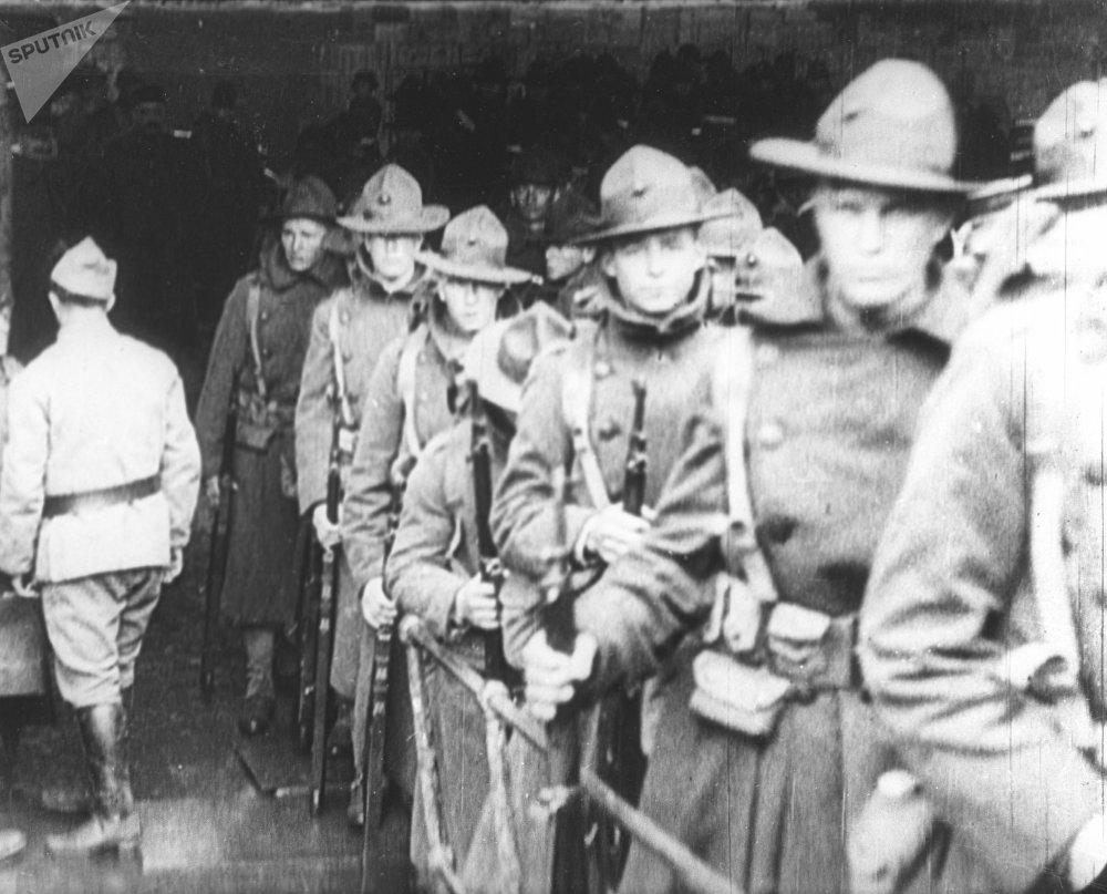 Des troupes américaines dans l'Extrême-Orient russe, 1919