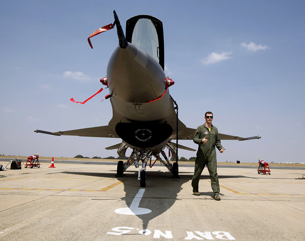 US Air Forces F-16