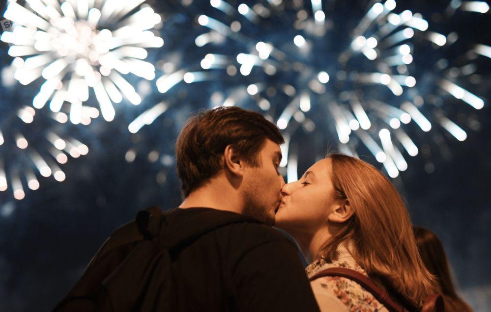 La fête de la lumière et des couleurs: le festival de feux d'artifice Rostec
