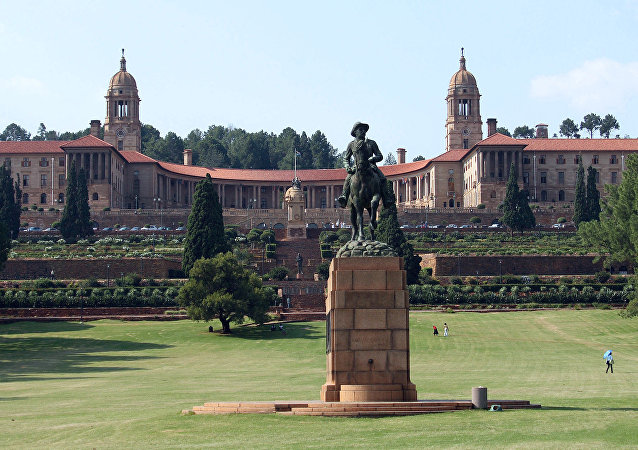 La résidence du président sud-africain dans le centre de Pretoria