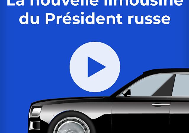 La nouvelle limousine du Président russe
