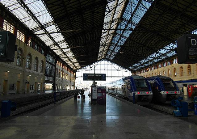 Gare de Saint Charles à Marseille