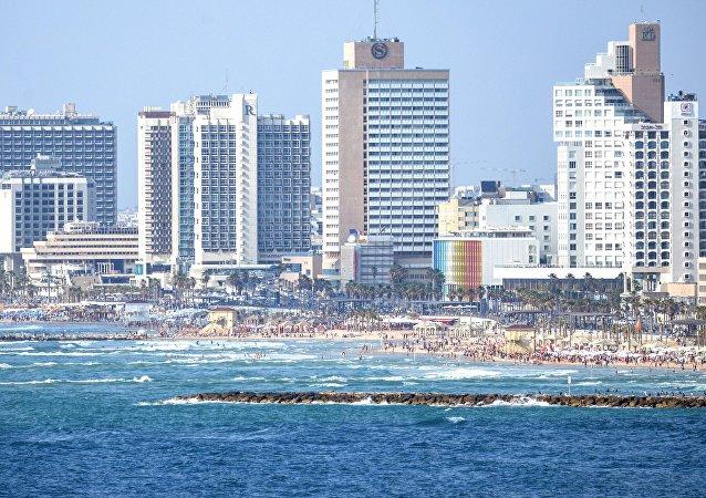 Tel Aviv, la capitale d'Israë