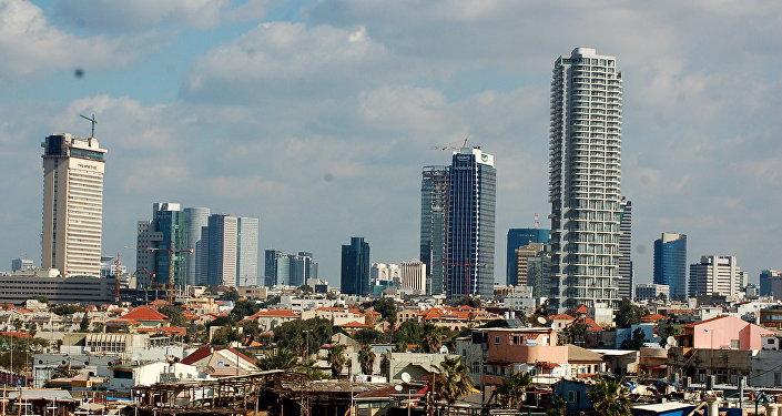 Tel Aviv, la capitale d'Israel