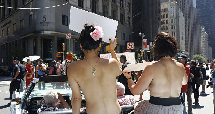 Go Topless Day, New York