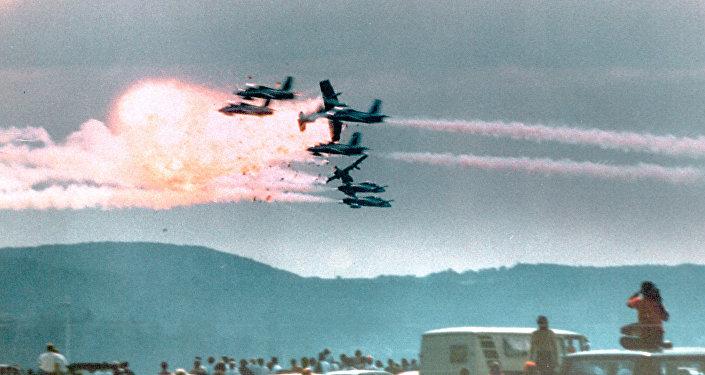 Il y a 30 ans, le spectacle aérien à la base de Ramstein tournait à la catastrophe
