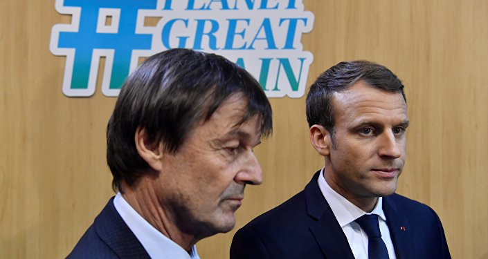 Emmanuel Macron et Nicolas Hulot