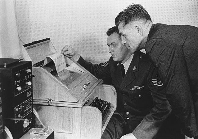 La ligne de communication directe entre les États-Unis et l'Union soviétique