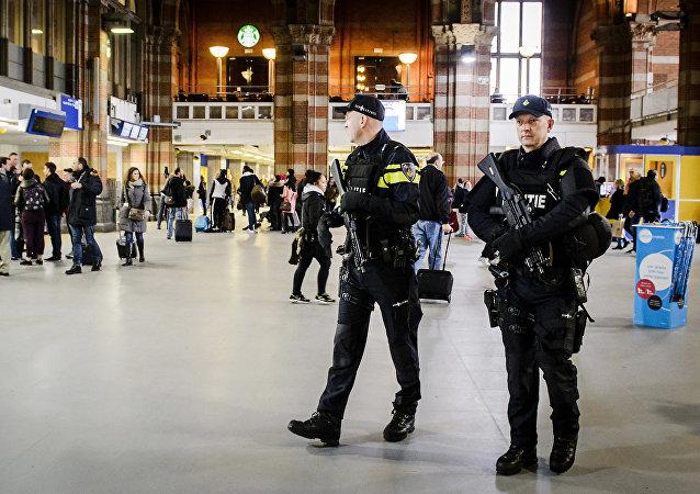 La gare d'Amsterdam