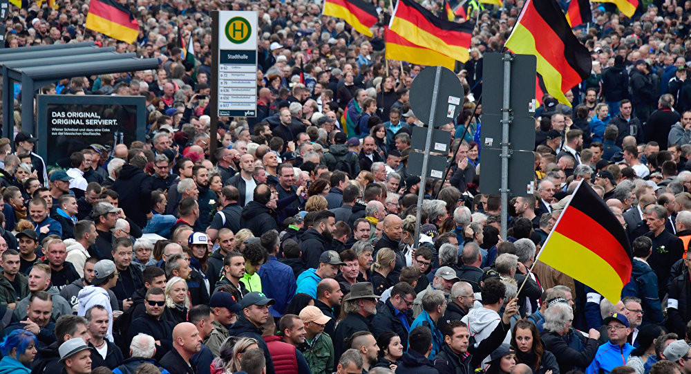 Manifestation à Chemnitz (1er septembre 2018)