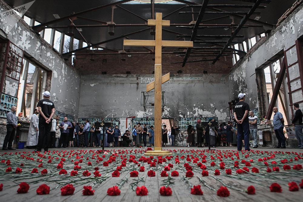Cérémonies commémoratives à Beslan - septembre 2018
