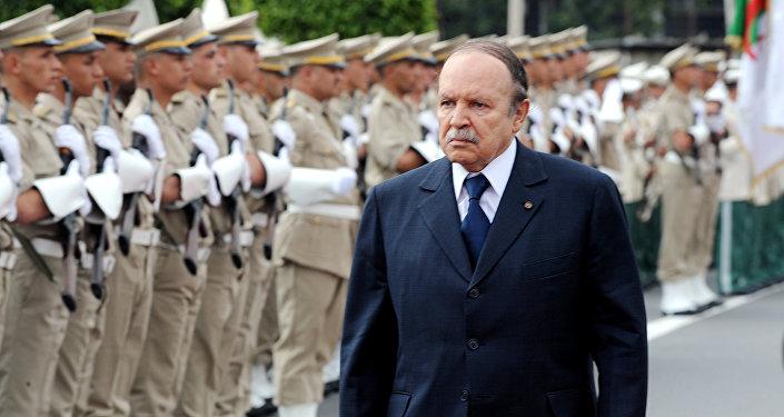 Le Président de la République algérienne Abdelaziz Bouteflika