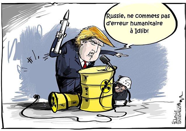 Erreur humanitaire à Idlib