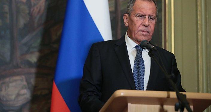Le ministre russe des Affaires étrangères Sergueï Lavrov