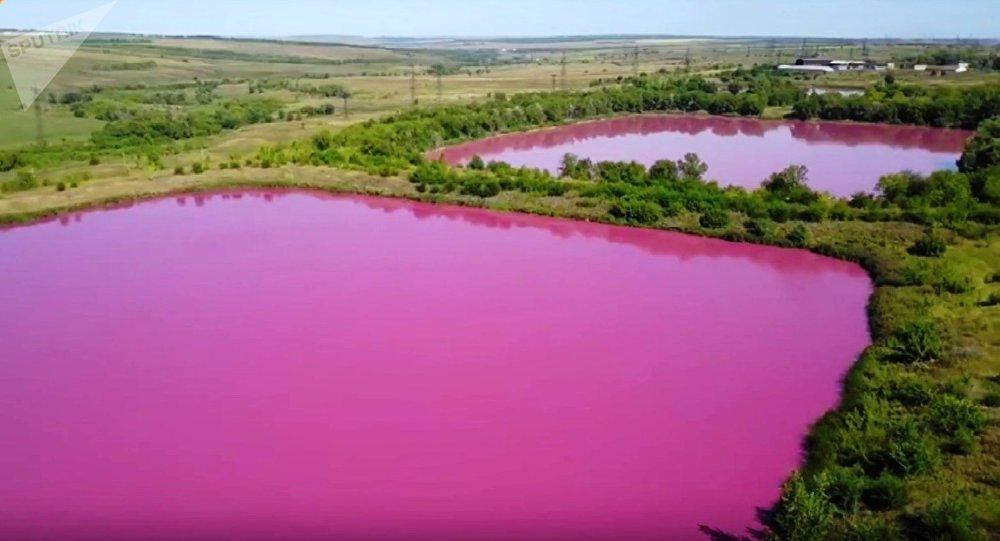 des lacs roses de Samara