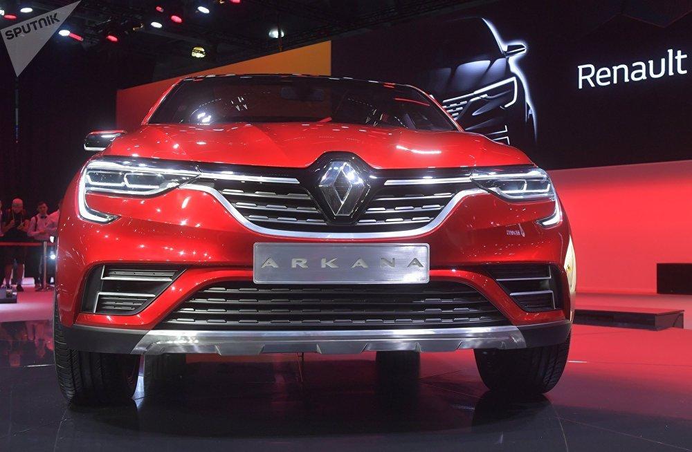 Renault Arkana au Salon international de l'automobile de Moscou