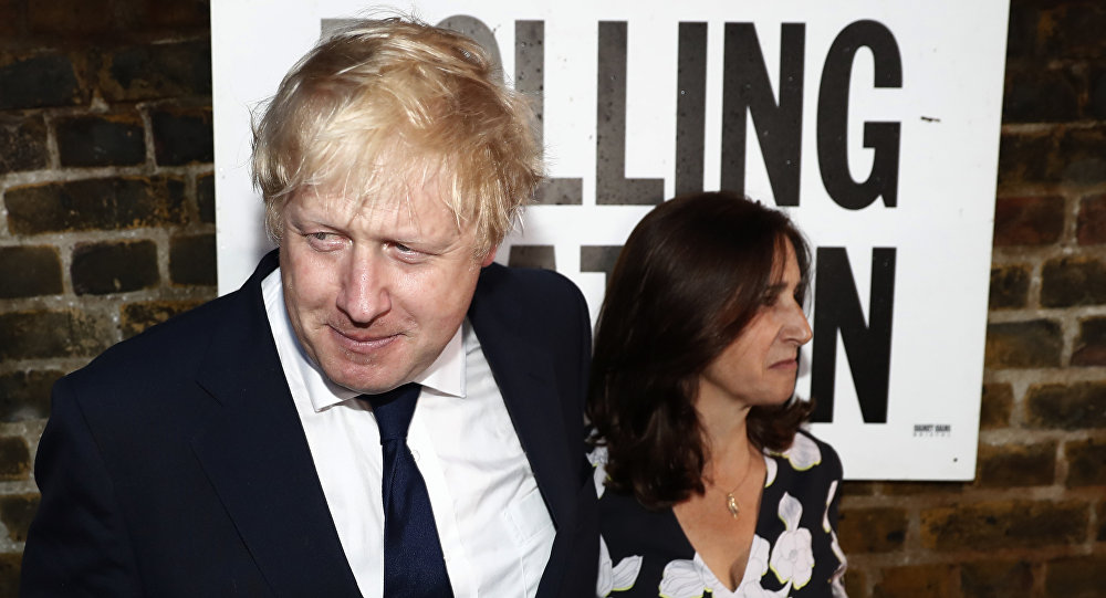 Boris Johnson et Marina Wheeler
