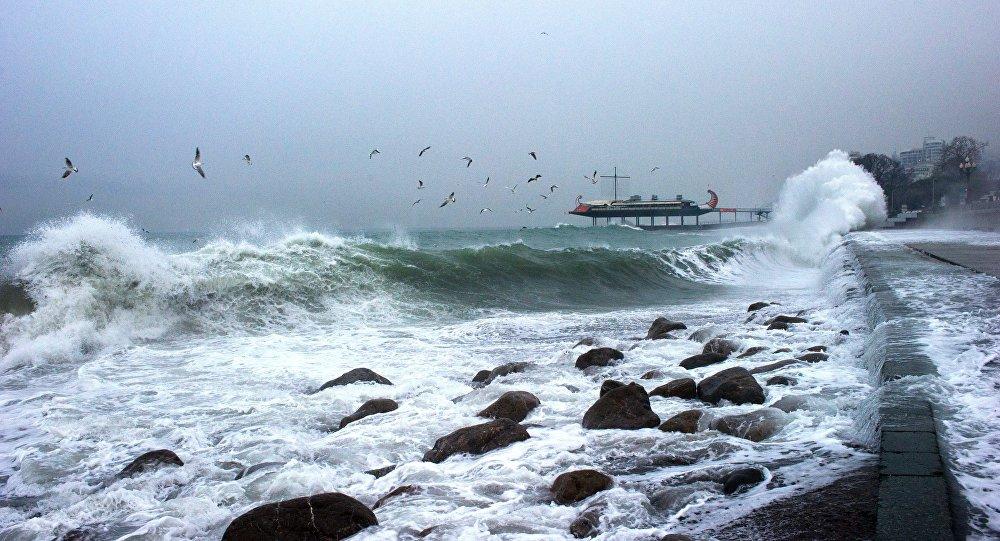 tempête en Crimée