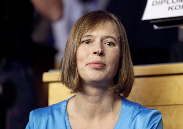 Kersti Kaljulaid, Présidente estonienne