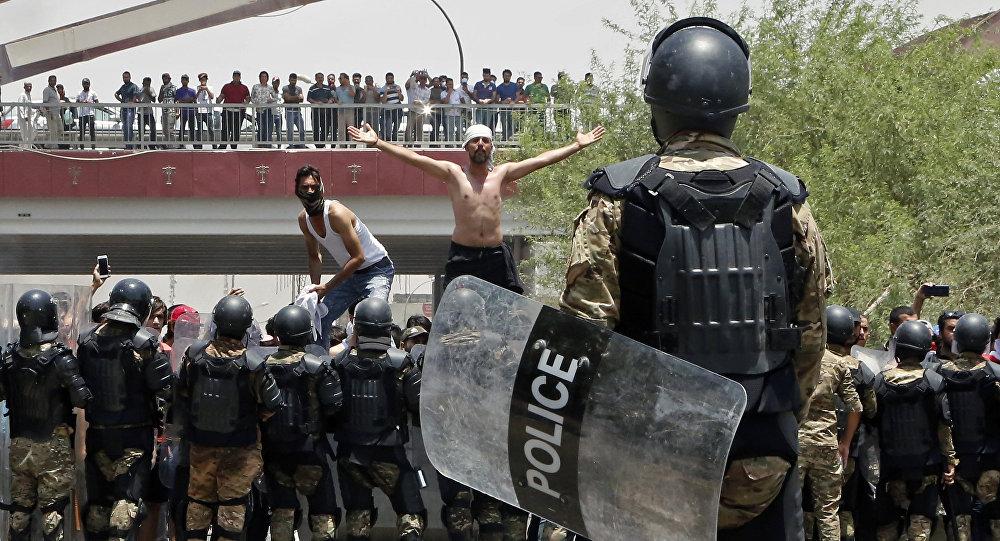 Manifestations de Bassora