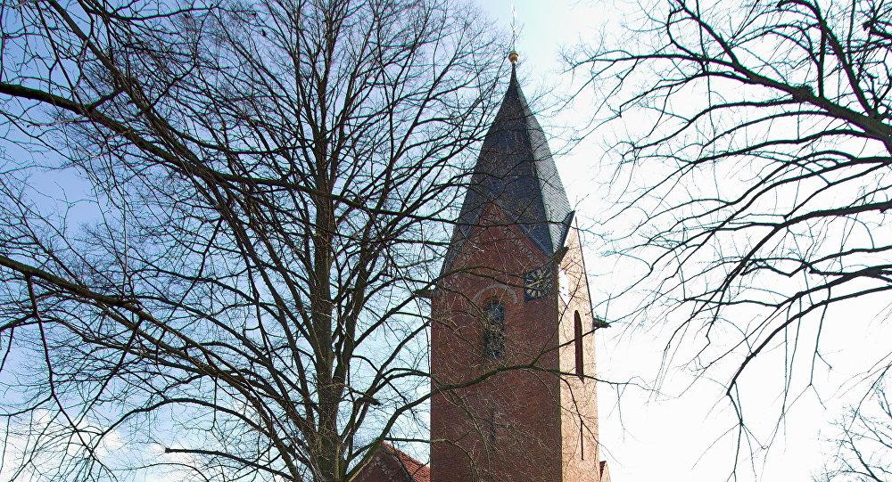 Une église à Schweringen
