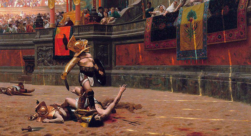 Jean-Léon Gérôme, «Pollice verso» (1872)