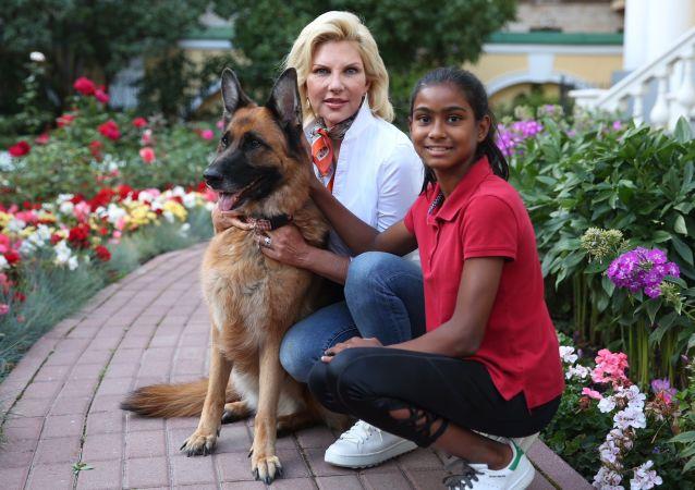 Les animaux de compagnie des diplomates étrangers à Moscou