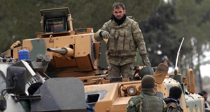 Des militaires turcs en Syrie (image d'illustration)