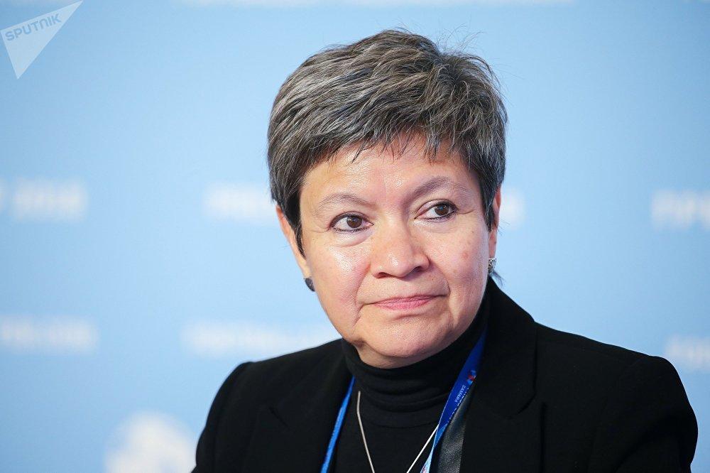 L'ambassadrice du Mexique en Russie, Norma Pensado