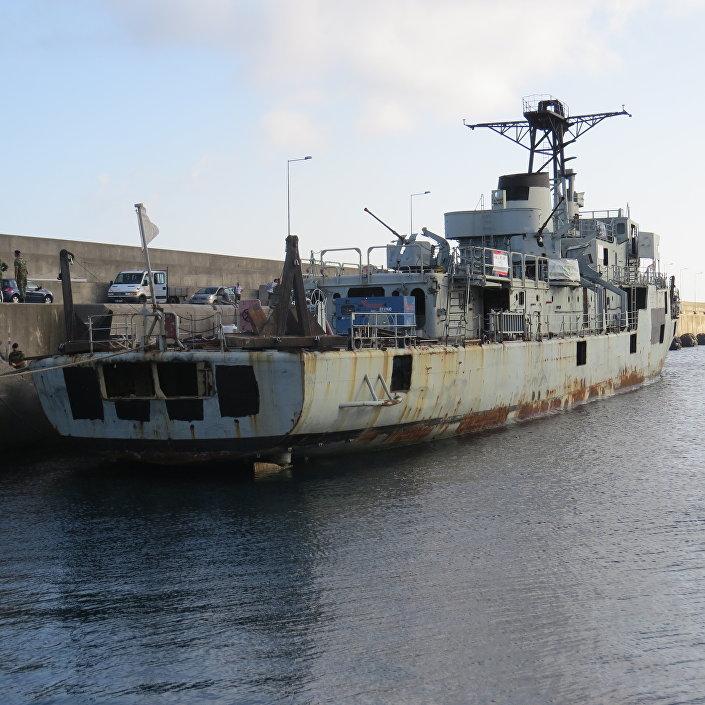 Alfonso Ceirquera, ancienne corvette de la marine portugaise