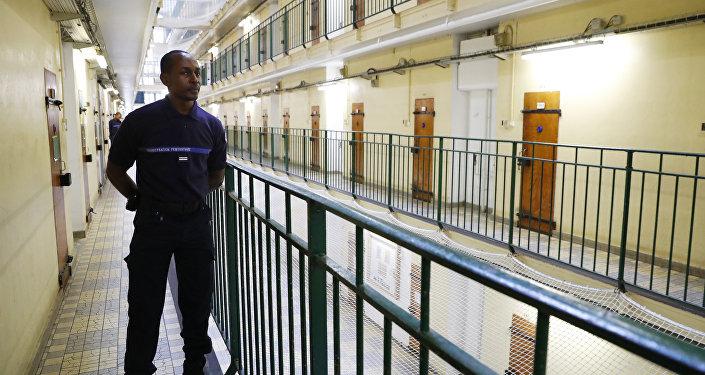 Un surveillant dans la prison de Fresnes (image d'illustration)