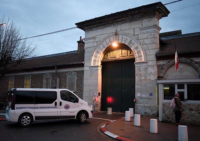 L'entrée de la prison de Fresnes