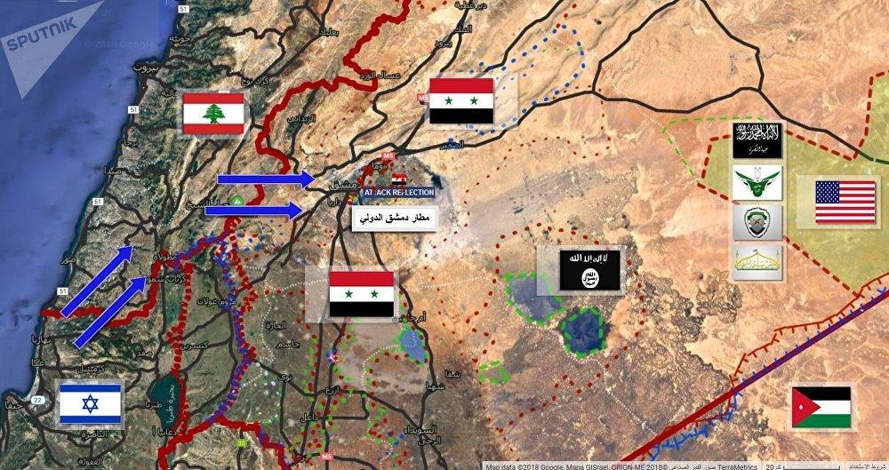 СИРИЯ: УДАР ПО СТОЛИЧНОМУ АЭРОПОРТУ УСПЕШНО ОТРАЖЕН