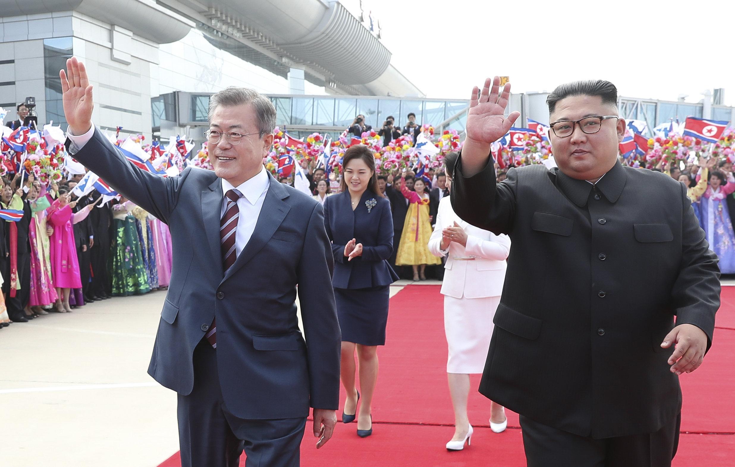 La visite du Président sud-coréen en Corée du Nord