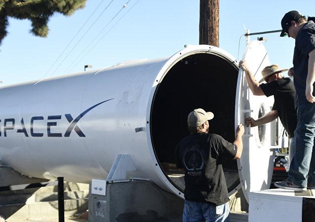 Au concours de capsules Hyperloop organisé par SpaceX
