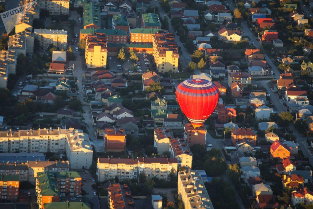 Le Festival des montgolfières dans la région de Stavropol