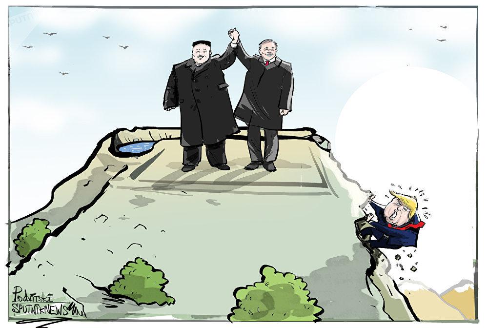 Le traité de paix entre Pyongyang et Séoul