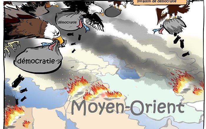 L'intervention américaine au Proche-Orient