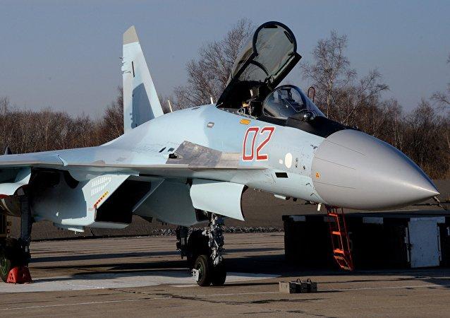 Un Sukhoi Su-35S