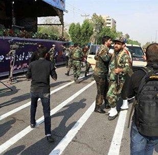 L'attentat lors d'un défilé militaire en Iran