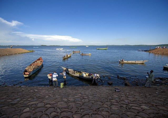 Le lac Victoria
