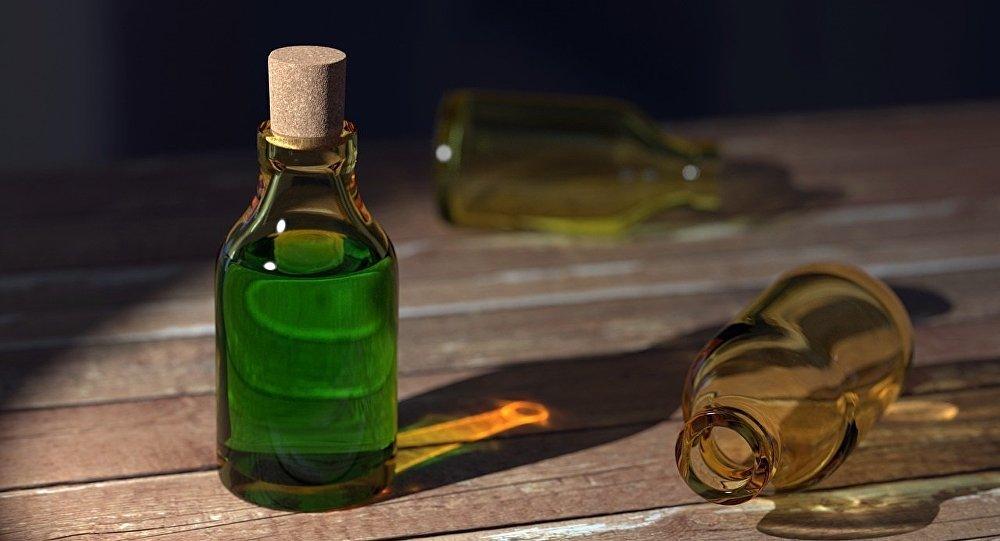 Produit chimique. Image d'illustration