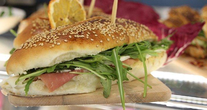 Un sandwich. Image d'illustration