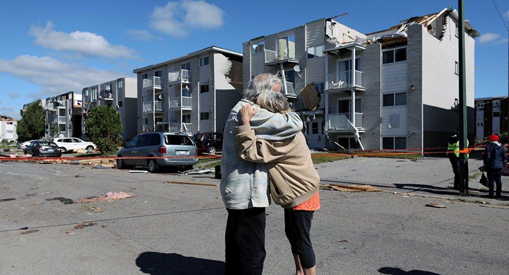 L'Ontario et le Québec ravagés par une tornade effrayante (vidéo)